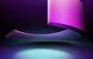 13款空间感场景PSD舞台灯光秀效果三维立体展示光束海报背景设计素材