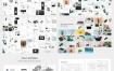 干净而现代创意的Powerpoint演示文稿模板优质设计素材下载