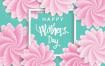 16款三八女王节女神节女人节妇女节唯美创意海报背景图AI矢量设计素材