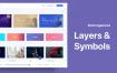 优秀毕业设计音乐流媒体服务网页应用UI套件优质设计素材下载(提供Adobe XD格式下载)