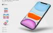 iPhone 11 Pro的苹果样机设计素材下载(提供PSD格式源文件)