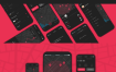 30多个停车位app应用暗黑模式UI工具包优质ui设计素材下载
