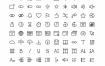 204个48×48像素线的图标优质设计素材下载