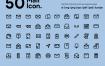 50个邮件图标优质设计素材下载