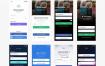 100多个iOS移动应用社交媒体UI套件优质设计素材下载