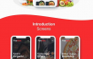 21个优质的外卖美食订餐手机UI设计优质设计素材下载(提供Adobe XD格式源文件)