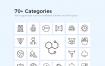 2800获奖和现代化项目高级图标优质设计素材下载