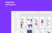 16个现代运动健身应用程序的用户界面优质设计素材下载(提供Adobe XD格式源文件)