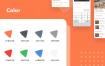 25个现代美食食品外卖UI套件设计优质设计素材下载(提供XD和sketch格式源文件)