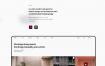 建筑和室内设计企业网站优质设计素材下载(提供Adobe XD格式源文件)