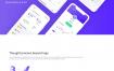 区块链数字货币比特币ui设计素材打包下载
