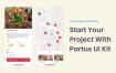 30多个美食外卖送餐app界面毕业设计面试源文件素材下载(提供XD和sketch格式源文件)
