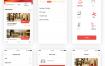35个河酒店预订APP UI套件源文件素材下载(提供Adobe XD格式源文件)