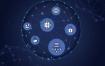 16款大气5G互联网通信数码智能科技渐变背景海报图AI矢量设计素材