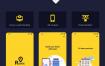 28个预订附近的酒店完整项目app界面优质设计素材下载(提供Adobe XD和sketch格式源文件)