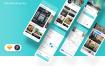34个现代清新酒店预订UI套件优质设计素材下载(提供sketch格式源文件)
