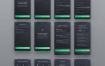 66个最新的微质感Neumorphism理财应用带黑暗模式的钱包财经UI套件优质设计素材下载(提供Adobe XD和sketch格式源文件)