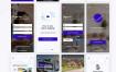24个找房租房房地产物业app设计优质设计素材下载(提供Sketch和Adobe XD格式下载)