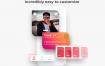 44个优雅和现代的约会恋人社交app界面设计优质素材下载带暗黑模式(提供PSD,Sketch和XD格式源文件)