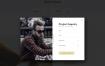 极具创造性和独特的多页面个人面试工作室html模板
