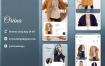 时尚服装商店app界面设计UI套件素材下载(提供Adobe XD格式源文件)