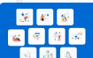 20个在线课程电商商务场景插图设计素材下载